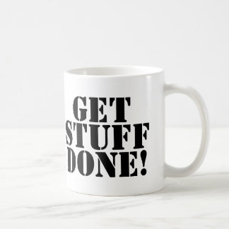 Consiga la taza hecha materia