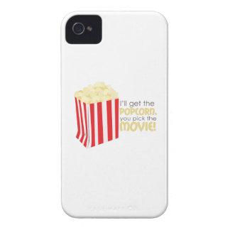 Consiga las palomitas iPhone 4 Case-Mate cobertura