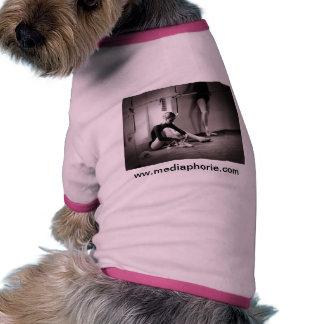 Consiga listo para bailar camiseta de perrito