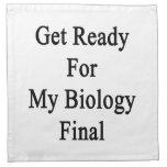 Consiga listo para mi final de la biología