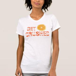 Consiga machacado camisetas
