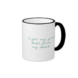 Consiga mis miradas de Abuelo Tazas De Café