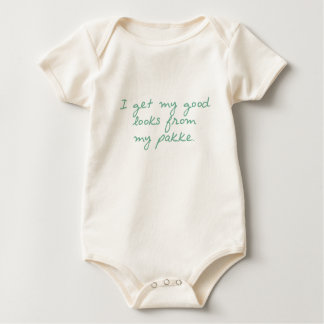 Consiga mis miradas de Pakke Body Para Bebé