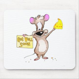 Consiga pronto el ratón bien tapete de raton