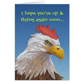 Consiga pronto la tarjeta bien: Sopa de pollo