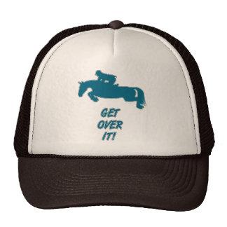 Consiga sobre él el caballo gorras de camionero