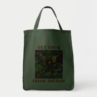 Consiga su apretón fresco bolsa de mano