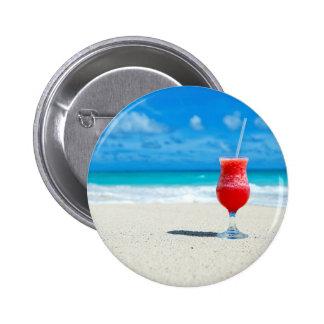 Consiga su bebida encendido pin redondo de 2 pulgadas