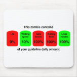 ¡Consiga su cantidad diaria de calidad del zombi! Tapete De Ratones