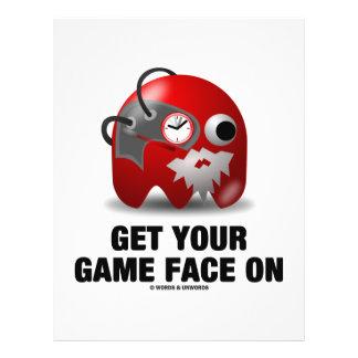 """Consiga su cara del juego en (Borg viejo en tiempo Folleto 8.5"""" X 11"""""""