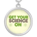 Consiga su ciencia encendido joyerias personalizadas
