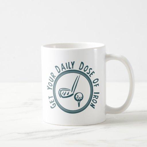 Consiga su dosis diaria del hierro tazas de café