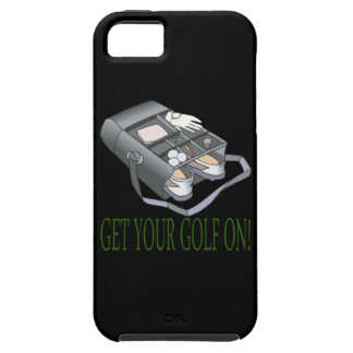Consiga su golf encendido funda para iPhone SE/5/5s