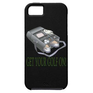 Consiga su golf encendido iPhone 5 carcasas