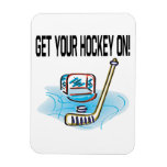 Consiga su hockey encendido iman flexible