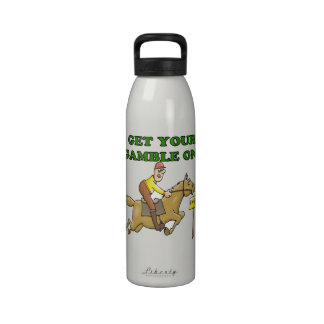 Consiga su juego encendido botella de agua reutilizable
