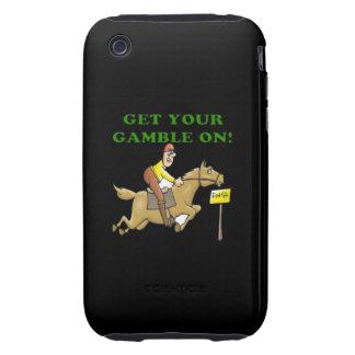 Consiga su juego encendido tough iPhone 3 protectores