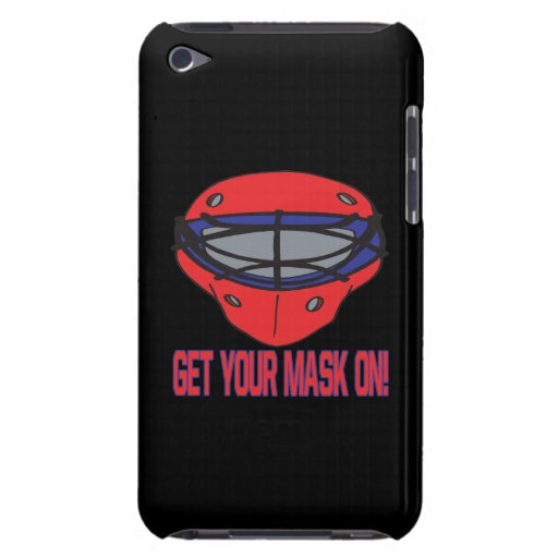 Consiga su máscara encendido iPod Case-Mate carcasa