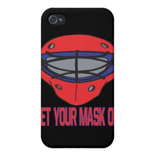 Consiga su máscara encendido iPhone 4/4S funda