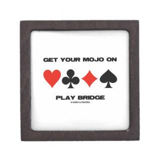Consiga su Mojo en el puente del juego (cuatro Cajas De Regalo De Calidad