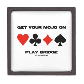 Consiga su Mojo en el puente del juego (cuatro Cajas De Joyas De Calidad