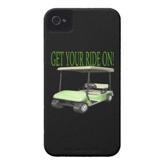 Consiga su paseo encendido carcasa para iPhone 4