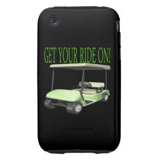Consiga su paseo encendido carcasa resistente para iPhone