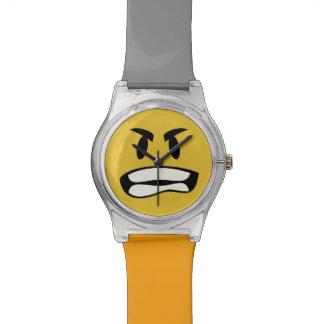 Consiga su rabia en emoji reloj