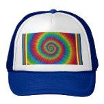 Consiga su teñido anudado en el casquillo gorra