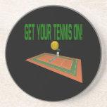 Consiga su tenis encendido posavasos manualidades