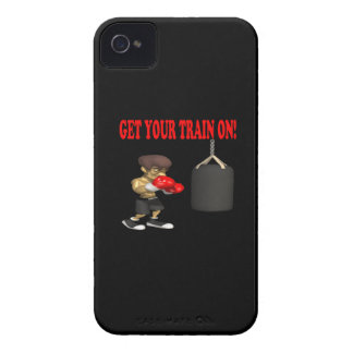 Consiga su tren en 2 Case-Mate iPhone 4 protectores