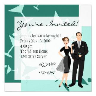 ¡Consiga sus martinis listos Invitaciones Personales