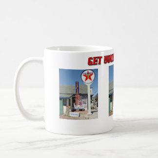 Consiga sus retrocesos en 66 taza de café