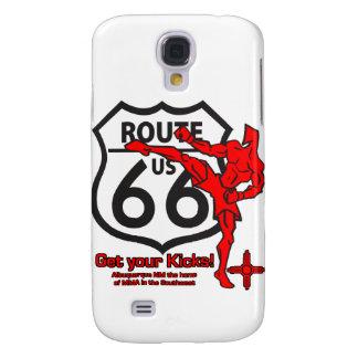 ¡Consiga sus retrocesos en la ruta 66! Funda Para Galaxy S4