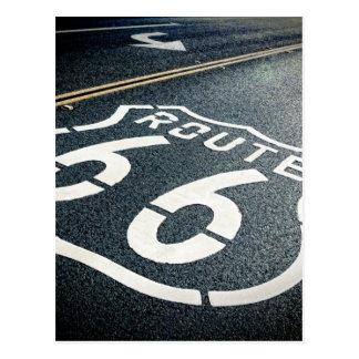 Consiga sus retrocesos en la ruta 66 postal