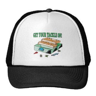Consiga sus trastos encendido gorro de camionero