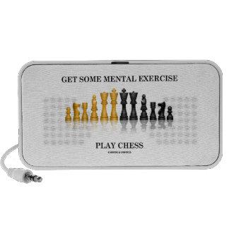 Consiga un cierto ajedrez mental del juego del eje altavoces