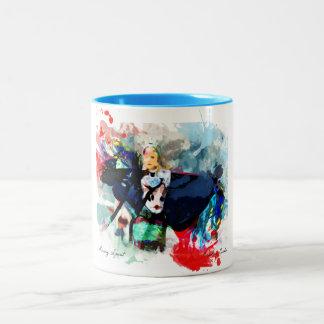 Consiga un cierto arte en su taza
