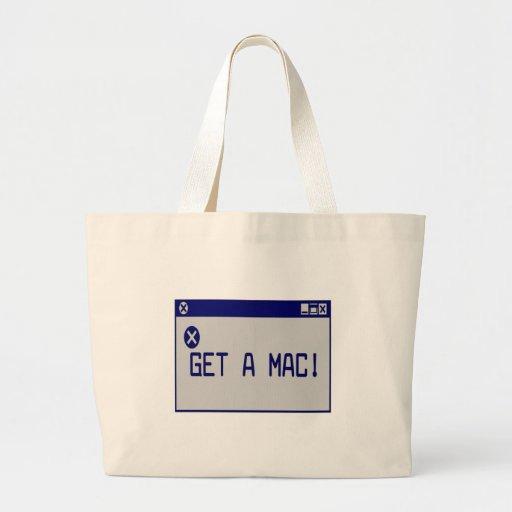 ¡Consiga un mac! Bolsas De Mano