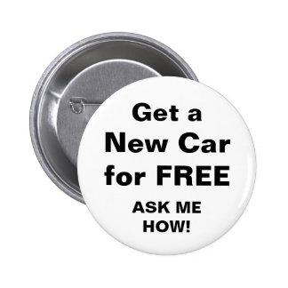 Consiga un nuevo coche gratis pin