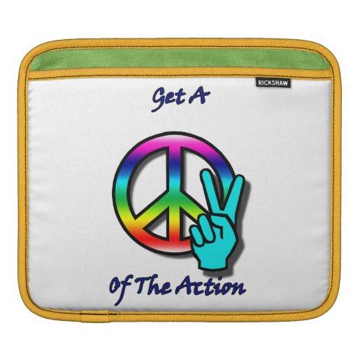 """Consiga un pedazo """"paz"""" de la acción manga de iPad"""