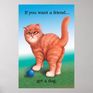 Consiga un poster del perro