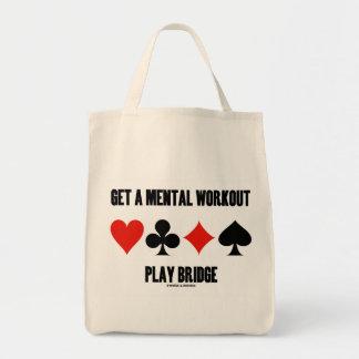 Consiga un puente mental del juego del bolsa tela para la compra