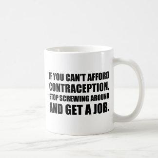 Consiga un trabajo taza