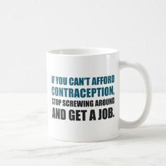 Consiga un trabajo taza de café