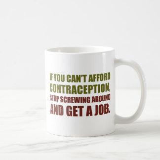 Consiga un trabajo tazas