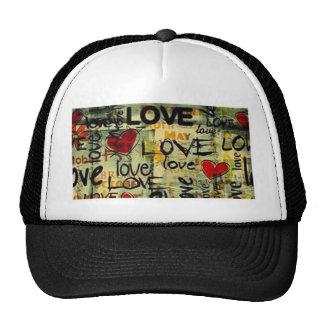 Consiga una poca pintada del amor gorra