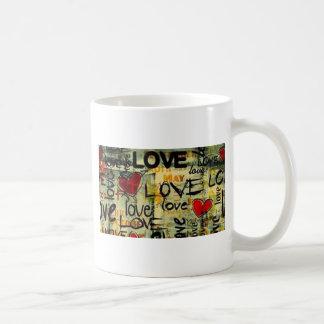 Consiga una poca pintada del amor taza de café