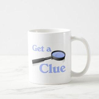 Consiga una taza de café de la pista