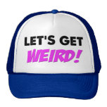Consigamos el gorra extraño